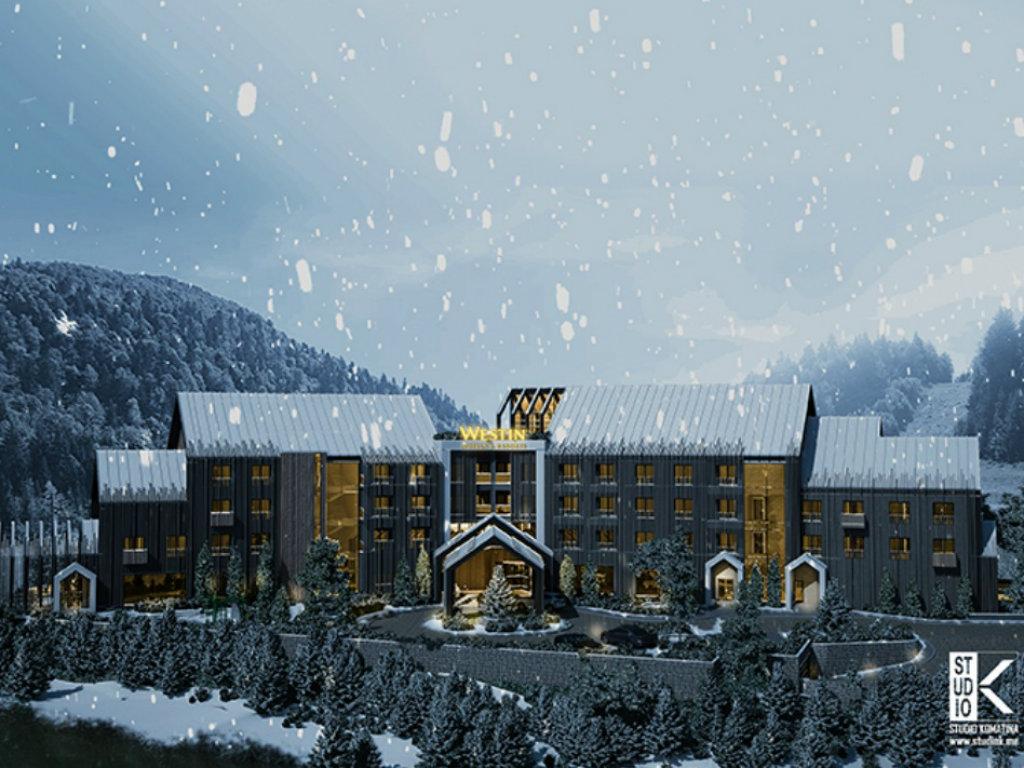 Počela gradnja hotela Westin Kolašin resort - Završetak radova do kraja 2022, u luskuznim sobama i apartmanima biće mjesta za 800 gostiju