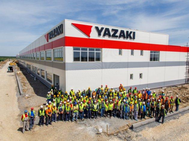 Yazaki factory in Sabac