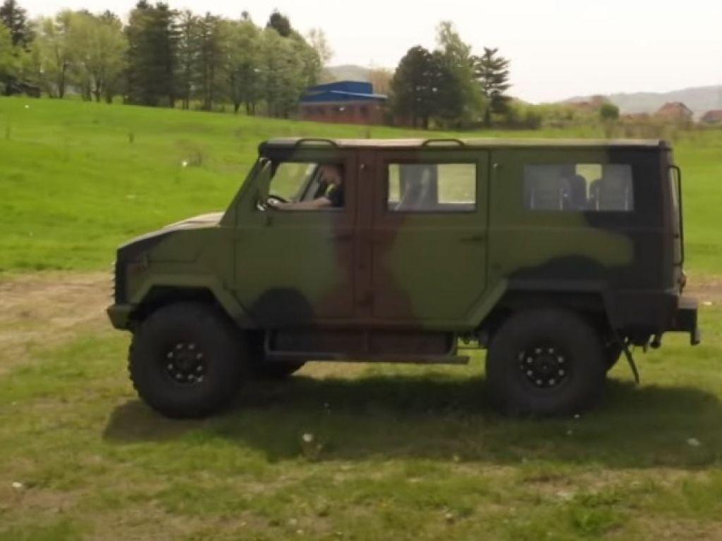 Zastava Tervo - Novo terensko vozilo za Vojsku Srbije prošlo sve testove, u planu izvoz
