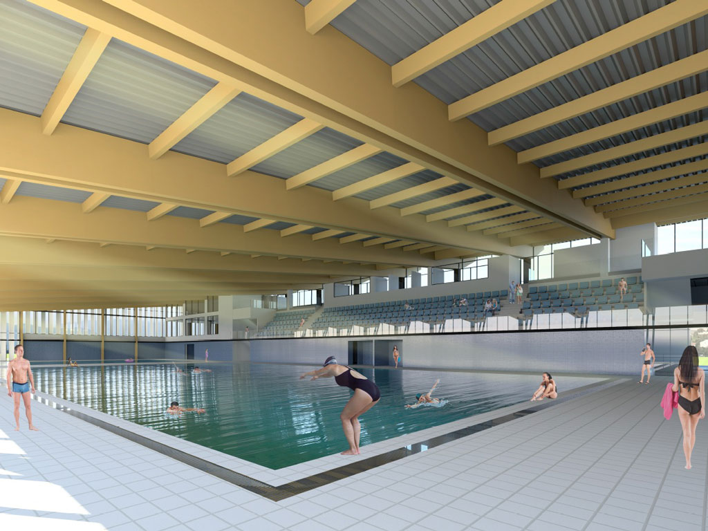 World competitions are comming at the Ibar valley - Have a look how indoor city swimming pool in Kraljevo will look like (PHOTO)