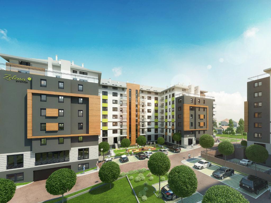 U pripremi nastavak gradnje kompleksa Zelena avenija u Zemunu - U martu počinju radovi na pametnom stambeno-poslovnom kompleksu (FOTO)