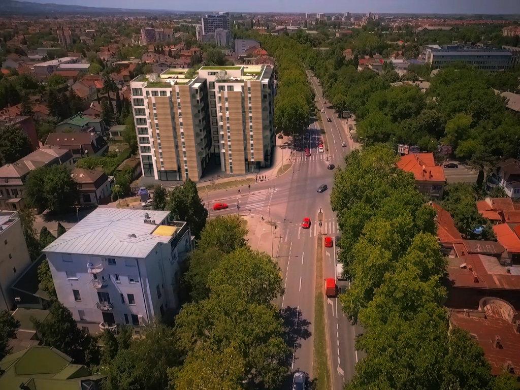 """Novi Sad dobio """"zelenu zgradu"""" u Futoškoj ulici (FOTO)"""