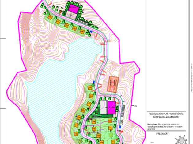 U blizini Borilovačkog jezera na Zelengori predviđena gradnja vikendica, dva motela i sportskog terena