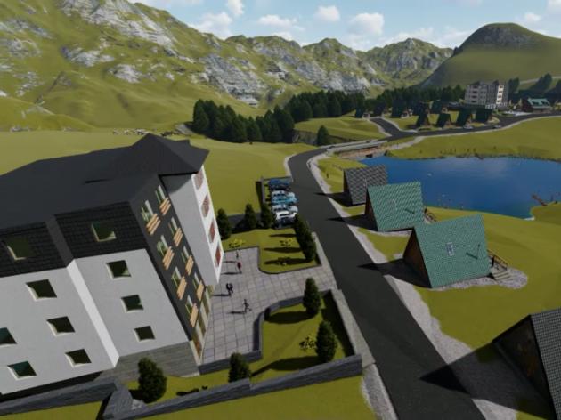 Evo kako bi trebalo da izgleda turistički kompleks na Zelengori (VIDEO)