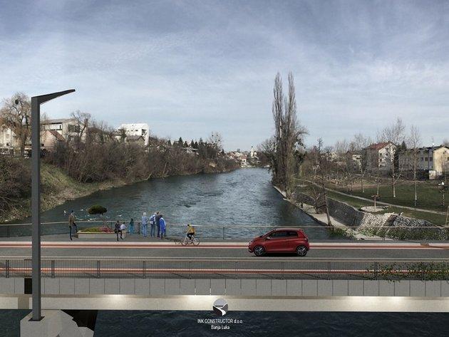 Projekat Zelenog mosta u Banjaluci