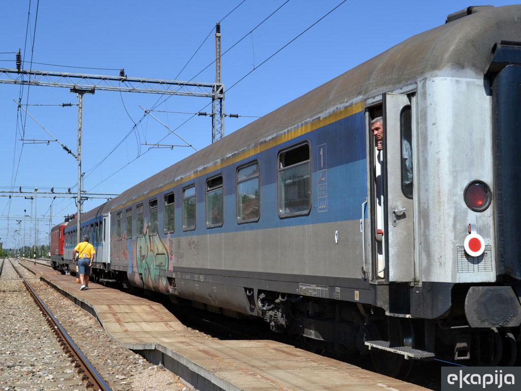 Dnevni voz Bar - Beograd od 15. juna