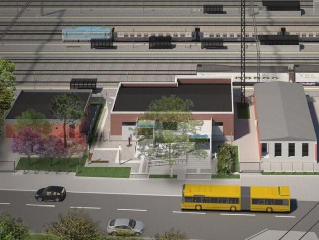 Novi izgled železničke stanice Batajnica