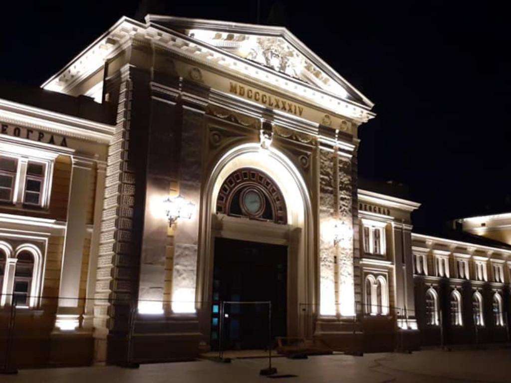 Bivša Železnička stanica dobila novo dekorativno osvetljenje i namenu - Biće Muzej Nikole Tesle