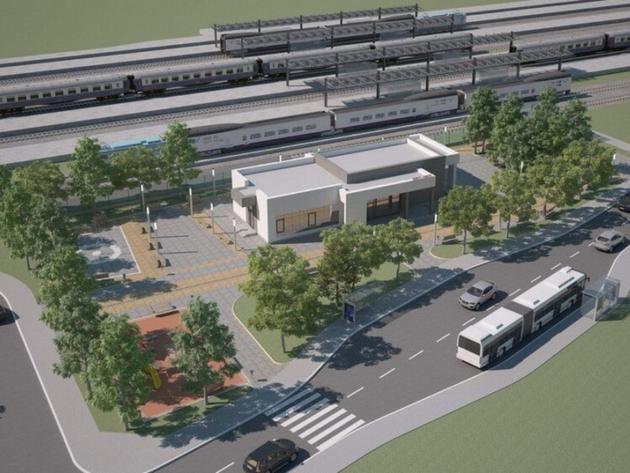 Novi izgled železničke stanice Zemun