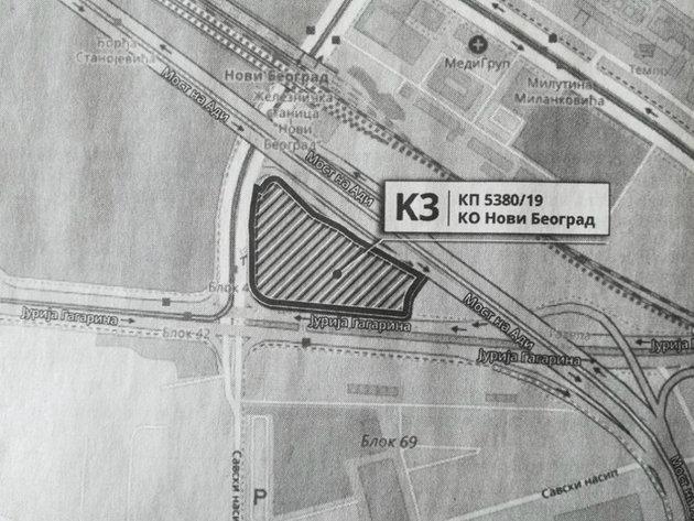 """Standort des """"Flohmarktes"""" in Novi Beograd zum Verkauf gestellt - Stadt hat eine Frist von zwei Jahren für die Dislozierung dieses Marktes"""