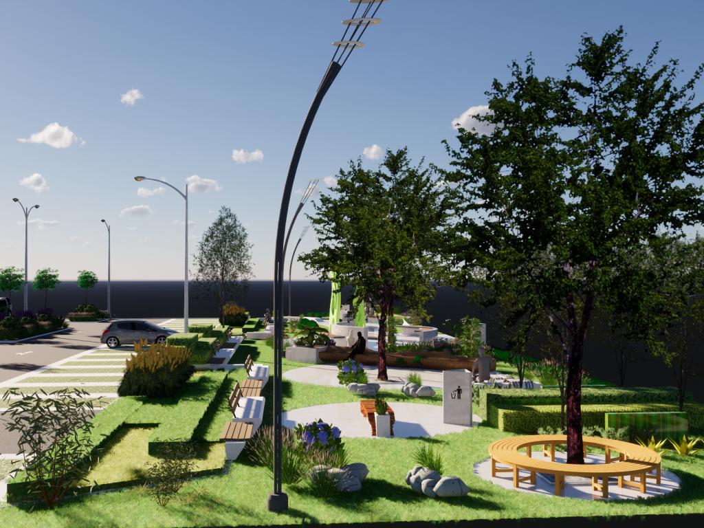 Uskoro novi parking sa 140 mesta i zelena oaza na zemunskom Keju oslobođenja - Pogledajte kako će izgledati (FOTO)