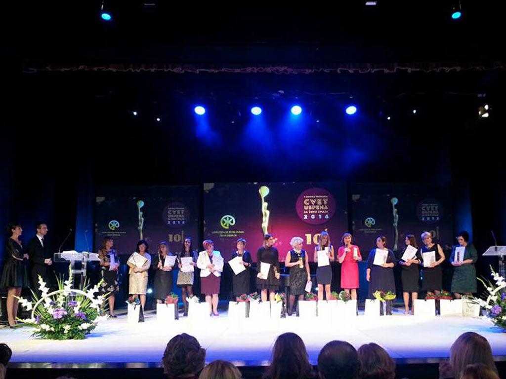 Podstrek ženskom preduzetništvu - Dodeljene nagrade Cvet uspeha za ženu zmaja