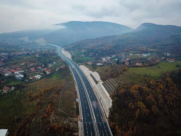 Puštena u promet dionica Zenica sjever - Zenica jug