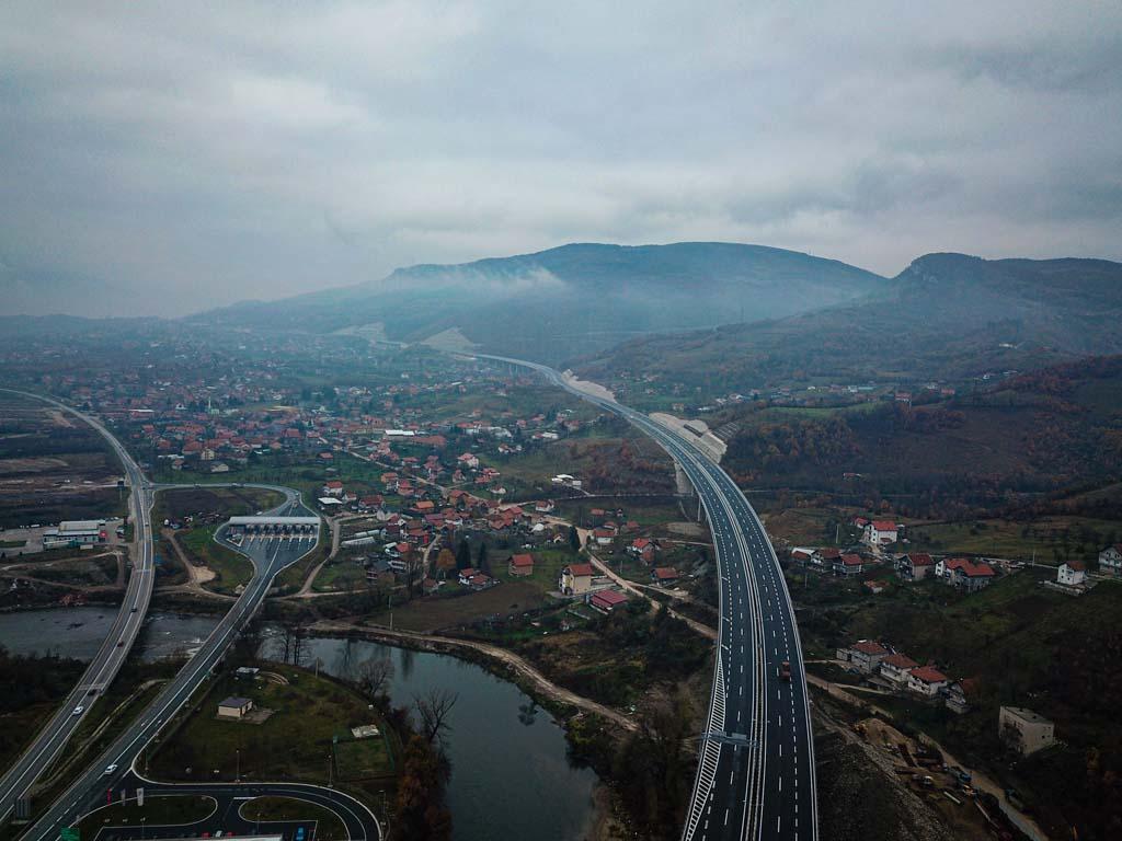 Završena gradnja Zeničke obilaznice - Utrošeno 225 mil EUR, izgrađeno 13 objekata (FOTO)
