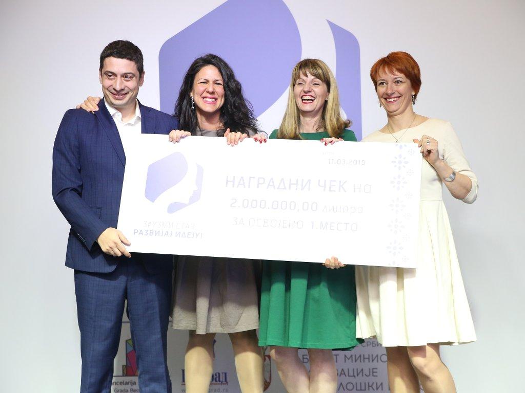 Novih pet miliona dinara za žensko preduzetništvo - Završen konkurs za najbolju inovacionu ideju u 2019.