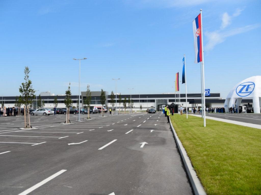 New factory in Pancevo