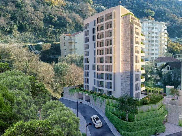 U planu izgradnja apartmanskog objekta od 10 spratova u Bečićima - Nova zgrada će imati 82 apartmana i podzemnu garažu na tri nivoa