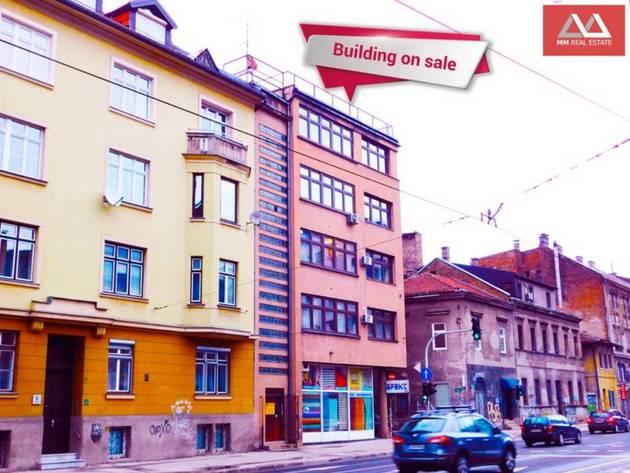 Na prodaju zgrada u centru Sarajeva - Četiri apartmana po cijeni od 650.000 EUR
