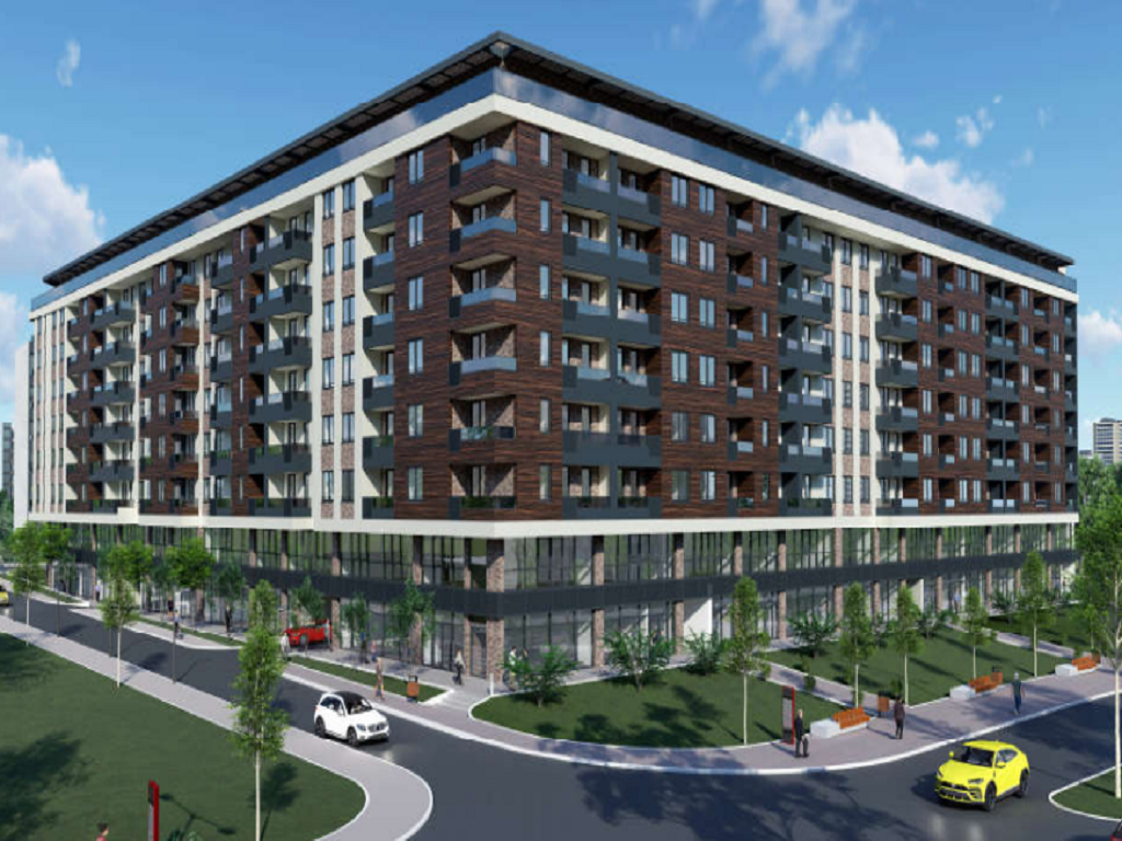 Nova stambeno-poslovna zgrada na osam spratova gradiće se na Trošarini - U četiri lamele više od 50 lokala, 360 stanova i 30 penthausa (FOTO)
