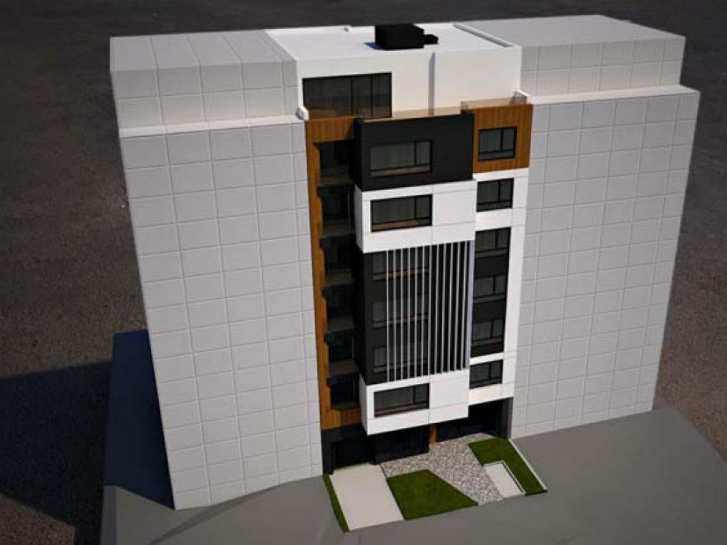 Kompanija Ulcinjska Invest gradi stambeno-poslovnu zgradu na sedam spratova u Ustaničkoj ulici (FOTO)