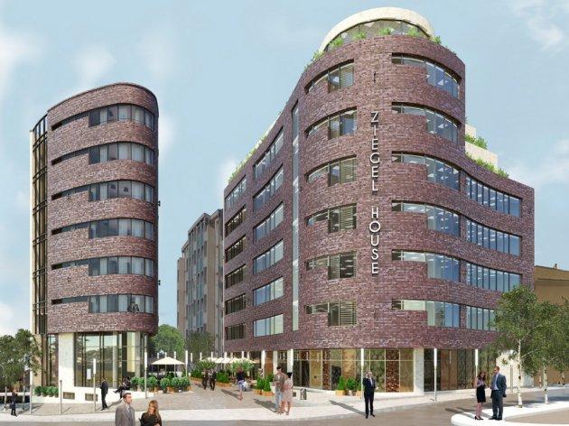 Wie der Komplex Ziegel House aussehen wird