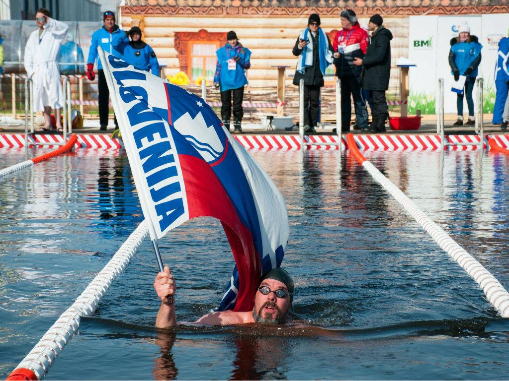 Denis Benčič, slovenački reprezentativac u zimskom plivanju - Hladna voda mi je ojačala imunitet i izlečila sinuse