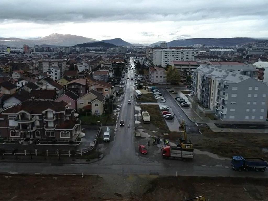 U Podgorici počela izgradnja Zmaj Jovinog bulevara vrijednosti 1,6 mil EUR (VIDEO)