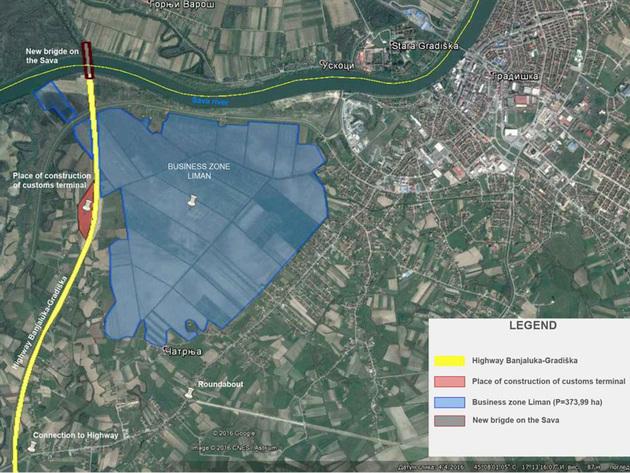 Usvojena prostorno-planska dokumentacija za formiranje slobodne zone - Buduća zona Liman pogodna za logističke i kargo centre