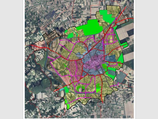 Zone urbnog područja Bijeljine