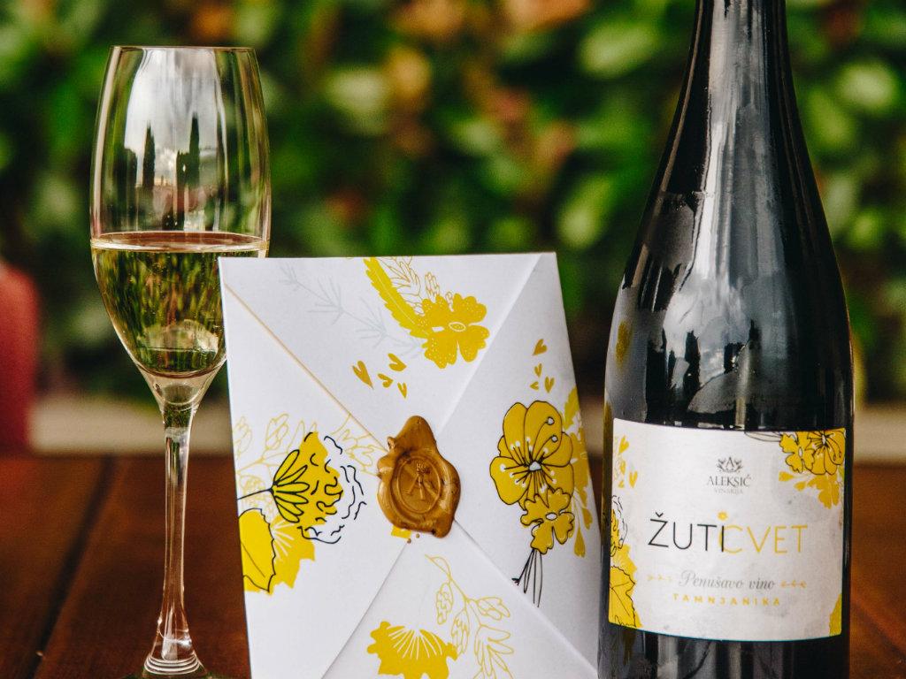Neuer Schaumwein aus Serbien - Tamjanika vom Weingut Aleksic
