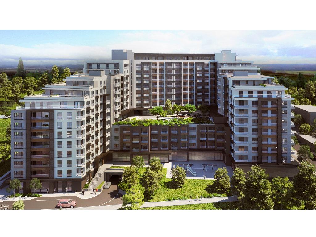 Zvezdano brdo, u blizini Ustaničke ulice u Beogradu, biće kompleks sa 317 stanova, 34 lokala i vrtićem